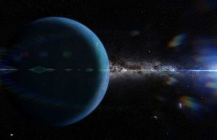The concealed planet in our close planetary system could be a primordial dark gap