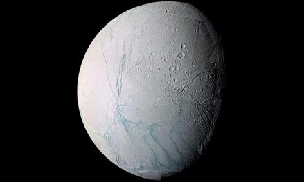 For what reason Does Enceladus Have Stripes at its South Pole?
